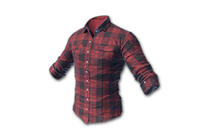 Checked Shirt Red