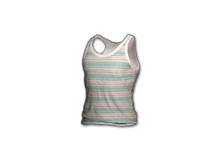 PUBG Striped Tank Top skin icon
