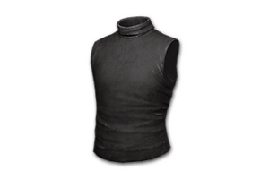 Sleeveless Turtleneck Black