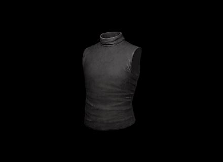 PUBG Sleeveless Turtleneck (Black) skin icon