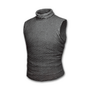 Sleeveless Turtleneck (Gray)