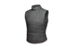 Sleeveless Turtleneck Gray