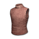 Sleeveless Turtleneck (Red)
