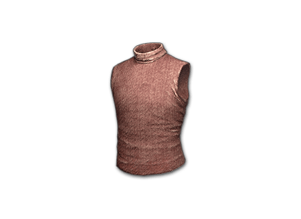 PUBG Sleeveless Turtleneck (Red) skin icon