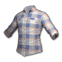 Checkered Shirt (Coral)