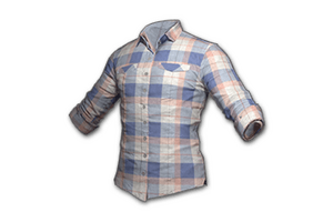 Checkered Shirt Coral