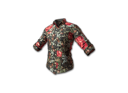 PUBG Floral Shirt (Black) skin icon