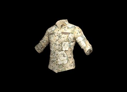 PUBG Floral Shirt (White) skin icon