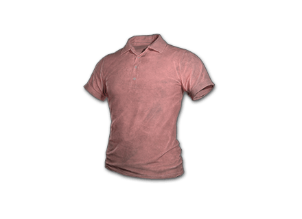 PUBG Polo Shirt (Pink) skin icon