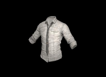 PUBG Military Shirt (Gray) skin icon