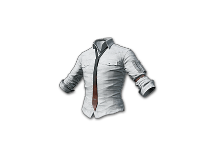 PUBG Shirt (White) skin icon