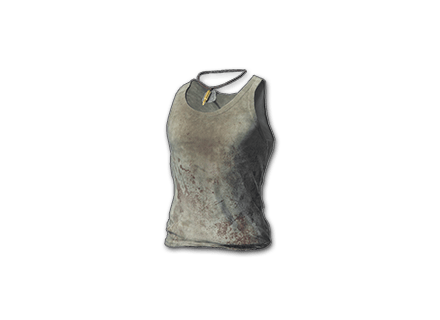 PUBG Bloody Tank-top (White) skin icon