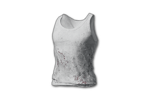 Dirty Tank Top White