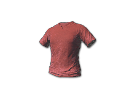 PUBG T-shirt (Red) skin icon