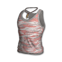 Camo Tank Top (Red)