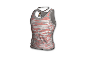 Camo Tank Top Red