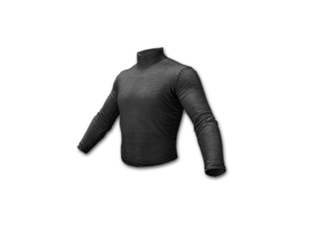 PUBG Long Sleeved Turtleneck (Black) skin icon