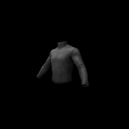Long Sleeved Turtleneck (Black) - gocase.pro