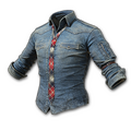 Denim Shirt with Necktie