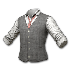 Tweed Vest (Gray)
