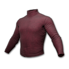 Long Sleeved Turtleneck (Burgundy)