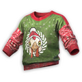 Festive Chicken Sweater