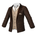 Suit Top (Brown)