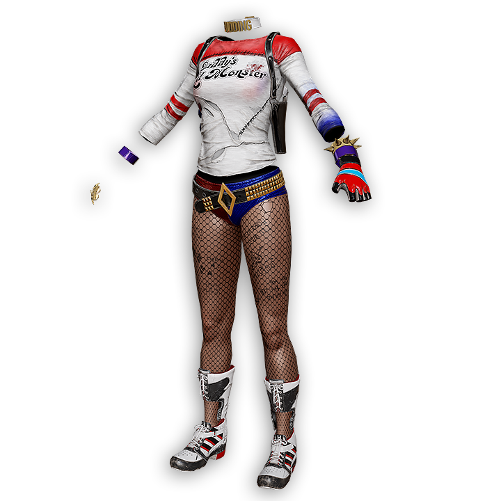 Harley Quinn Suicide Squad Outfit