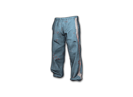 PUBG Tracksuit Pants (Light Blue) skin icon