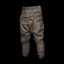 Baggy Pants (Brown)