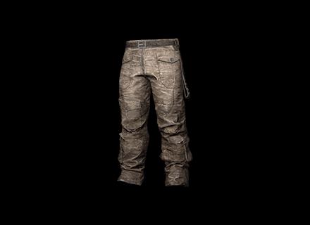 PUBG Biker Pants (Gray) skin icon