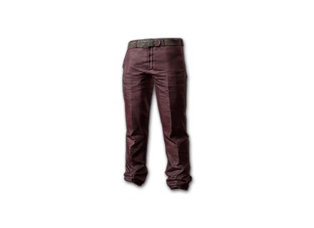 PUBG Wide Pants (Red) skin icon