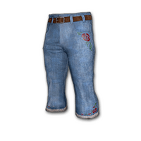 Denim Bootcut Pants