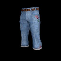 Denim Bootcut Pants