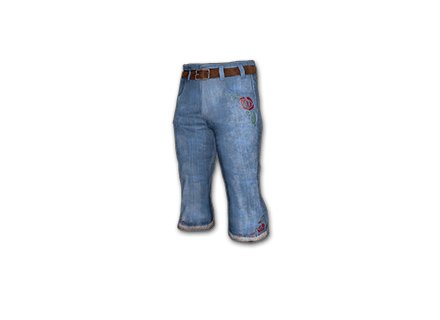 Denim Bootcut Pants icon