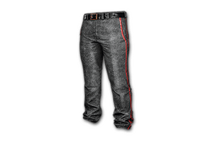 Military Trousers Black