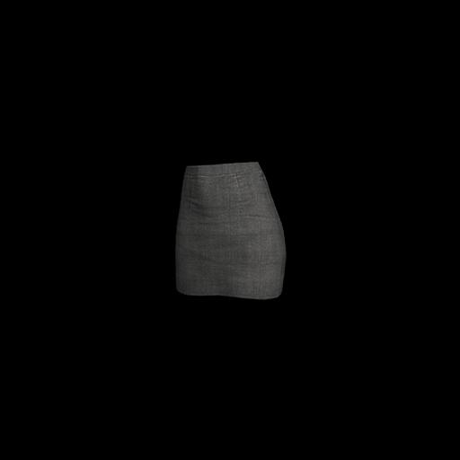 Military Skirt (Black) - gocase.pro