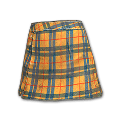 Zest Checkered Skirt