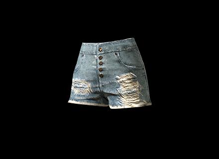 PUBG Fringed Hotpants skin icon