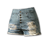 Fringed Hotpants