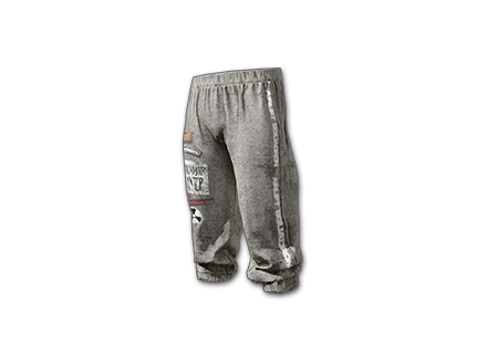 PUBG Lazy Sunday Sweatpants skin icon