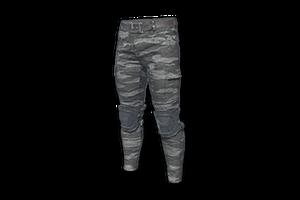 Camo Combat Pants Gray