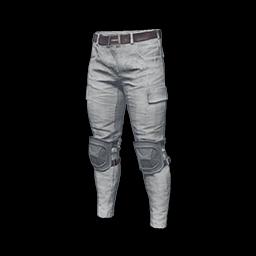 free pubg skin Combat Pants (White)