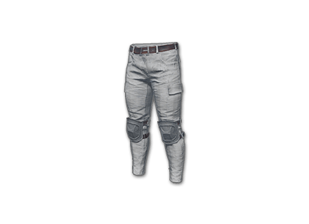 PUBG Combat Pants (White) skin icon