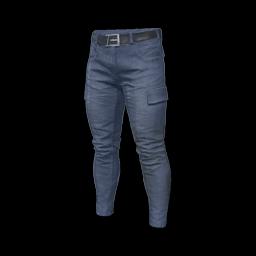free pubg skin Combat Pants (Blue)