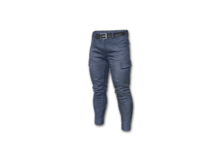 PUBG Combat Pants (Blue) skin icon