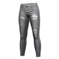 Distressed Jeans (Gray)