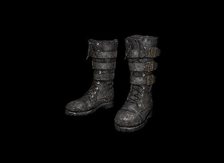 PUBG Military Boots (Black) skin icon