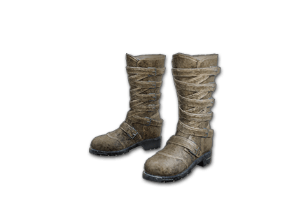 PUBG Long Leather Boots (Brown) skin icon