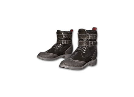 PUBG Leather Boots (Black) skin icon